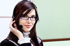 Contact center Royalty Free Stock Photography