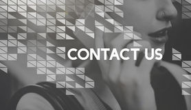 Contact Customer Care Support Help Service Assistance Concept Royalty Free Stock Photo