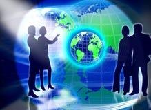 Contact de gens d'équipe d'affaires Image stock