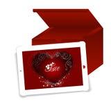 Contact de l'amour Image stock