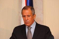 Contact des têtes des ministères d'affaires étrangères photo stock