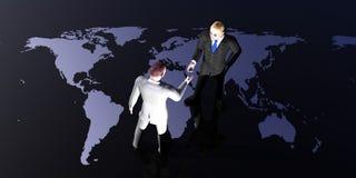 Contact du monde Illustration Libre de Droits