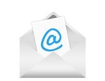Contact envelope Stock Photo