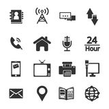 Contact icon Royalty Free Stock Image