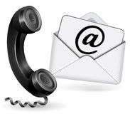 Contact icon Royalty Free Stock Photo