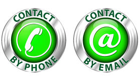 Contact icon Royalty Free Stock Photography