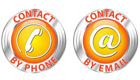 Contact icon Stock Photography