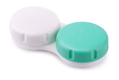 Contact lens case Royalty Free Stock Photography