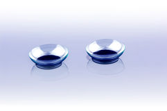 Contact lenses Stock Photo