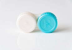 Contact lenses case Stock Photography