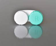 Contact lenses case Royalty Free Stock Images