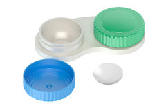 Contact lenses case Royalty Free Stock Photos