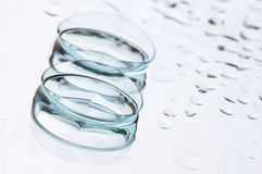 Contact lenses Royalty Free Stock Photos