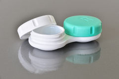 Contact lenses container Royalty Free Stock Image