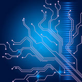 Contact Links Background Shows Electric Circuit Or Interface Wir Stock Photography