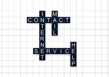 Contact and mail Royalty Free Stock Photography
