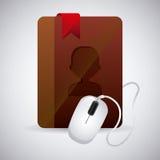 Contact manager app Stock Photos