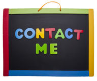 Contact Me Stock Images
