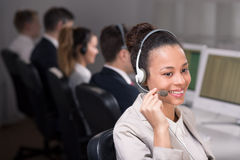 Always in contact with people Stock Image