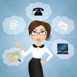 Contact person Stock Photos