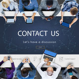 Contact Register Feedback Support Help Concept Stock Photography