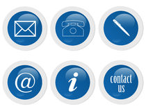 Contact Signs Royalty Free Stock Photos