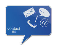 Contact signs Stock Images
