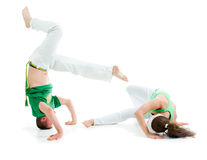 Contact Sport .Capoeira Royalty Free Stock Photography