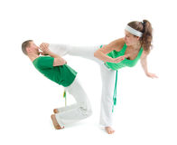Contact Sport .Capoeira. Royalty Free Stock Images