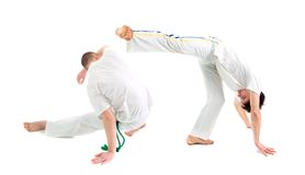 Contact Sport .Capoeira. Royalty Free Stock Photo