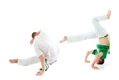 Contact Sport .Capoeira. Stock Photo