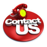 Contact telephone Royalty Free Stock Photography