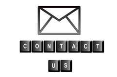 Contact us Royalty Free Stock Photos