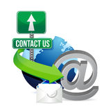 Contact us Royalty Free Stock Photography
