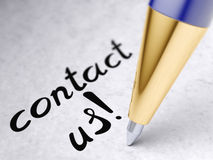 Free Contact Us Royalty Free Stock Photos - 69481068
