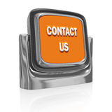 Contact Us Button Icon Royalty Free Stock Photo