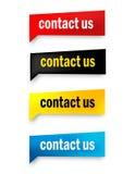 Contact us button Stock Photos
