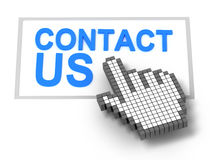Contact us concept Stock Images