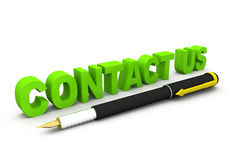 Contact us concept Stock Photography