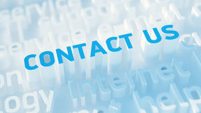 Contact us concept Stock Photo
