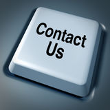 Contact Us E-Mail Business Service Internet comput Royalty Free Stock Photography