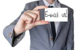 Contact us by e-mail Royalty Free Stock Photos