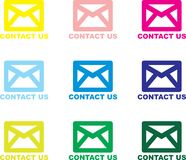 Contact Us - Email Royalty Free Stock Photo