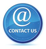 Contact us (email address icon) midnight blue prime round button royalty free illustration
