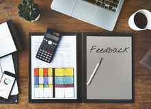 Contact Us Feedback Customer Service Response Concept Royalty Free Stock Photos