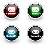 Contact us icon Stock Photos