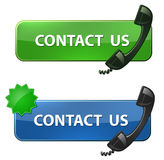 Contact Us icon Royalty Free Stock Image