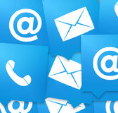 Contact us icon symbol design Stock Images