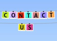Contact Us Royalty Free Stock Photos
