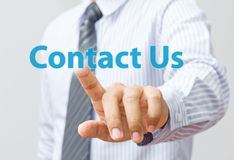 Contact Us Internet Concept. Internet concept for Contact Us webpage Stock Photo